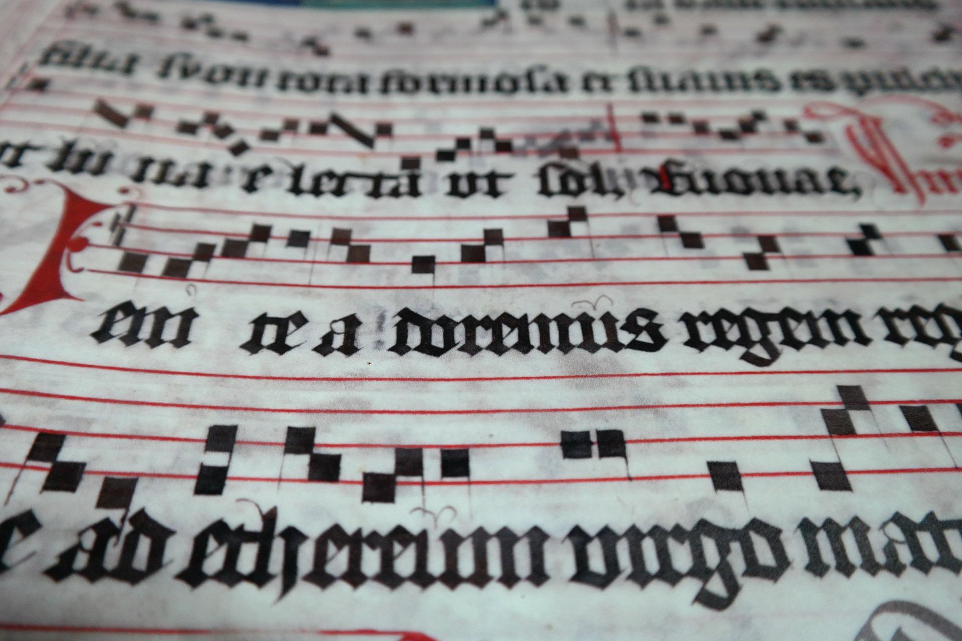 choral book